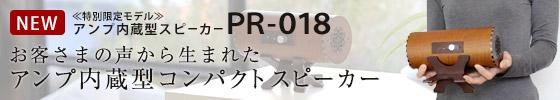 波動スピーカー PR-018