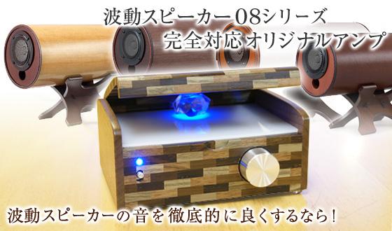 波動スピーカー対応 超小型エムズシステムオリジナルアンプ